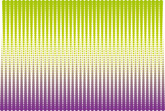 Green and violet halftone Stock Image
