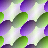 Green-violet oval seamless abstract background. Stock Photography