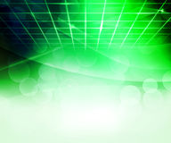 Green Virtual Abstract Background Stock Photography