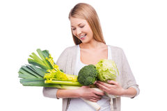 Green vitamins. Royalty Free Stock Photography
