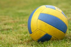 Green volley Royalty Free Stock Image
