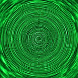 Green vortex simulating Stock Photo