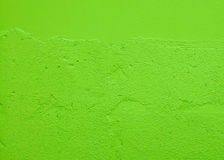 Green wall background Stock Images