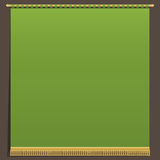 Green wall hanging Stock Images