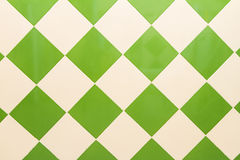 Green wall tiles as a background image. Stock Photo