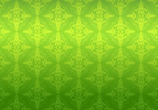 Green wallpaper pattern Royalty Free Stock Images