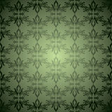 Green wallpaper stagger Stock Photography