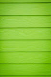 Green walls built of wood Royalty Free Stock Photography
