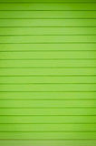 Green walls built of wood Royalty Free Stock Images