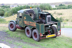 The Green Waltzer Historic Truck. The Green Historic Waltzer Truck Royalty Free Stock Image