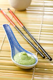 Green wasabi Royalty Free Stock Image
