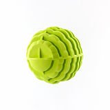 Green washing ball, plastic balls. Royalty Free Stock Images