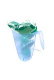 Green washing capsules Royalty Free Stock Photos