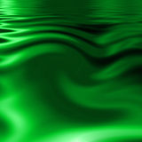 Green water Stock Image