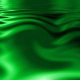 Green water vector illustration