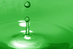 Green water Royalty Free Stock Photography