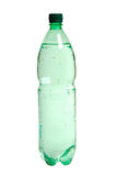 Green water bottle Royalty Free Stock Photo
