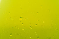 Green water condensation texture Royalty Free Stock Photography