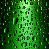 Green Water Drops Background Royalty Free Stock Photo