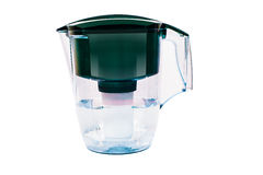Green water filter Royalty Free Stock Photography