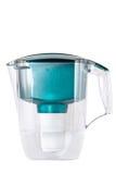 Green water filter Stock Photos
