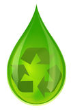 Green water and recycling Stock Photo