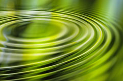 Green Water Ripple Stock Images