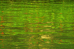Green water ripple background Royalty Free Stock Photography