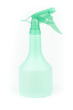 green water Spray bottle Royalty Free Stock Images