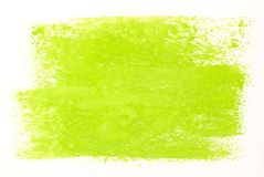 Green Watercolor Stock Image