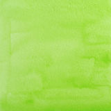 Green Watercolor Abstraction as Background Stock Image