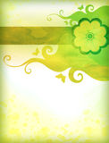Green watercolor background Royalty Free Stock Photo