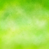 Green watercolor background. Royalty Free Stock Photo