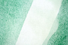 Green Watercolor Background Stock Image