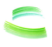 Green watercolor background. Stock Photo
