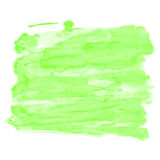 Green Watercolor Background Royalty Free Stock Images