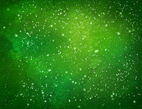 Green watercolor grunge background Stock Photo