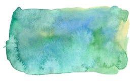 Green watercolor Royalty Free Stock Photos