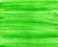 Green watercolor paint. Royalty Free Stock Photography