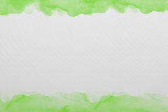 Green  watercolor paper texture Royalty Free Stock Photos