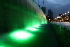 Green waterfall kuala lumpur. Green waterfall in the city of kuala lumpur stock images
