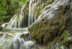The Green waterfall - Maarata Royalty Free Stock Images