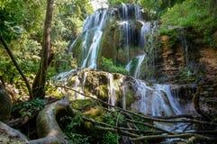 Free Green Waterfalls Royalty Free Stock Photography - 73287437