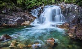 Green waterfalls Royalty Free Stock Image