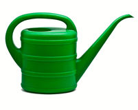 Green watering can Royalty Free Stock Photo