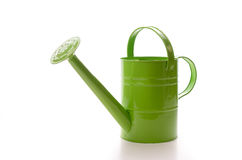 Green watering can Royalty Free Stock Photography