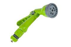 Green watering gun. Royalty Free Stock Photos