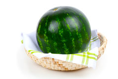 Green watermelon Stock Images