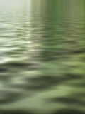 Green waters surreal. Background vertical Stock Image