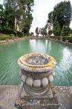 The Green Waters of Villa d'Este. A visit to Villa d'Este in Tivoli Stock Photography